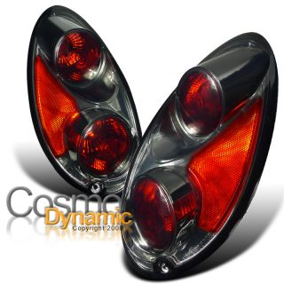 CHRYSLER 01 05 PT CRUISER EURO SMOKE TINTED TAIL LIGHTS LAMP