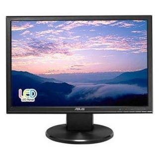 NEW ASUS VW199T P 19 LED LCD Monitor w Speakers 5ms Adjustable Display