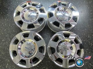 06 Lincoln Navigator Factory Chrome 18 Wheels OEM Rims Mark LT 3596