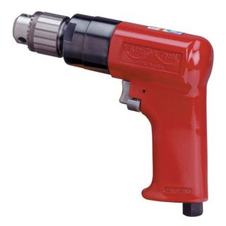 Viking Air Tools Heavy Duty Reversible Air Drill V341