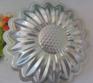 Aluminum Sunflowe shape cake pan baking mold cake mold Cake Decorating