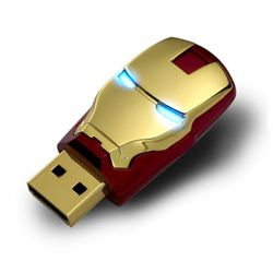 8GB Marvel Avengers IRON MAN USB Flash Drive by InfoThink