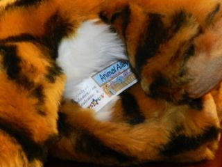 Animal Alley Tiger Cub Plush Stuffed Animal Stripes 9 Kitty Cat Toys