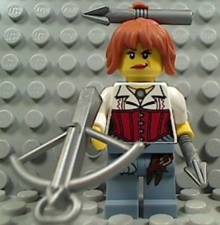 Lego Ann Lee Girl Hero Minifigure Monster Fighters from 9467 The Ghost
