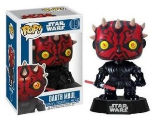 Star Wars Darth Maul POP Vinyl Figure (AAA) 830395023908 New Toys