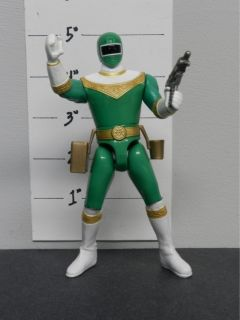 229] Bandai 96 Power Rangers Zeo Action Figure Action Feature Green