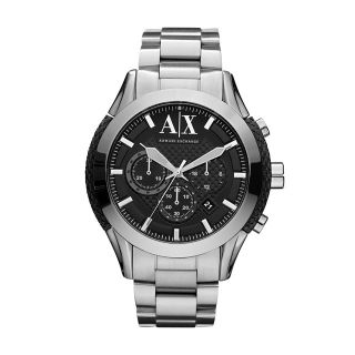 armani exchange chronograph mens watch ax1213 100 % authentic brand