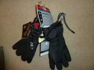Outdoor Research Mens Arete Gloves Ascent Goretex Small navy seal usmc