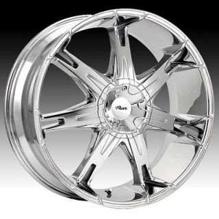 20X8.5 PACER ALLOY 781C FUZION 5X4.5/5X120 MUSTANG ACCORD BMW CHROME