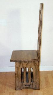 arts crafts hall chair 1