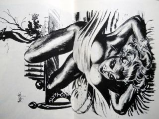 The Sensuous Frank Frazetta Pulp Pinup Portfolio Betty Page Marilyn