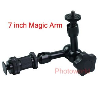 New Articulating Magic Arm 7 for LCD Monitor LED Light