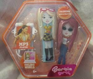 New Barbie Girls  Player 512MB Fashion Mix Orange