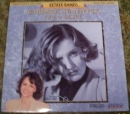 Barbara Stanwyck Fire and Desire 91 Laserdisc LD OOP Hosted by Sally