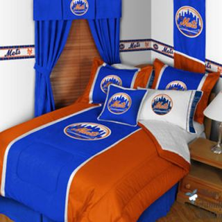 New York Mets Baseball Sport Boy Teen Kid Comforter Bedding Set Twin