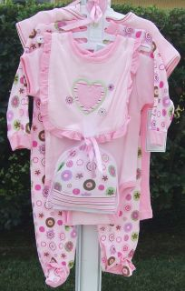 SPANOS 22 VINYL SWEET PEA BABY DOLL   TINA BERRY & 6pc BABY CLOTHING