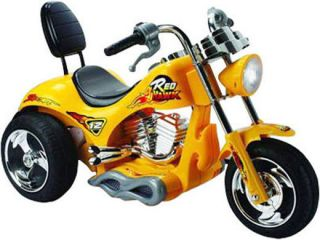 Battery Electric Powered Yellow Motorcycle Kids Ride on Bike Toy