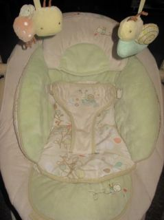 Bright Starts Ingenuity Plush Bella Vista Automatic Baby Bouncer Super