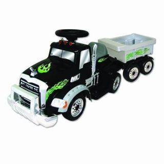 TRUCK with Trailer   6 Volt Battery Operated Kids Riding Ride On Toy
