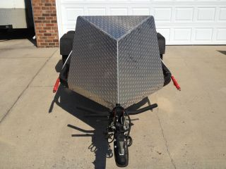 Baxley SB001 Single Bike Motorcycle Trailer