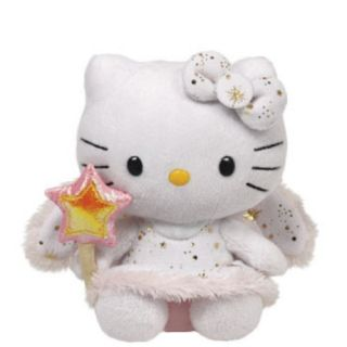 Ty Beanie Babies Christmas Plush by Sanrio 40960 Hello Kitty Angel
