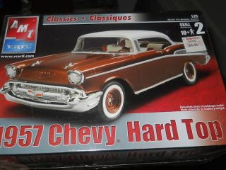 AMT 1957 CHEVY BEL AIR HARDTOP 1 25 Model Car Mountain Kit FS