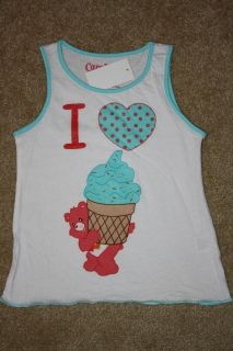 TODDLER GIRLS CARE BEARS TANK TOP   Size 3T (NWT)