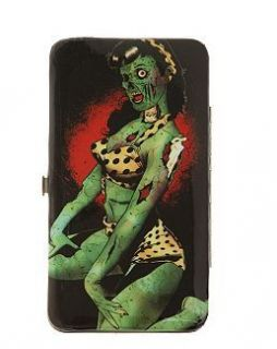 PIN UP ZOMBIE HINGE WALLET Marilyn Monroe Horror bettie page Day of