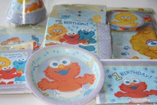 Sesame Street Elmo Big Bird Birthday Party Supplies Choose Items You