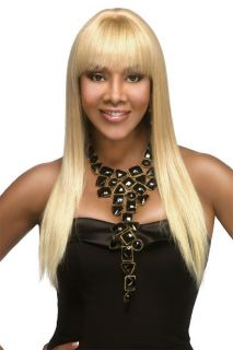 100 Human Hair Pure Stretch Cap Wig H157 V by Vivica A Fox