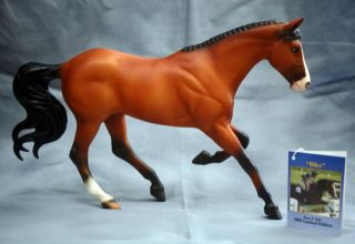 Breyer BIKO LE Jumper Gem Twist Mold Traditional Model Horse 3 Day