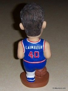 Bill Laimbeer Bobblehead Detroit Pistons NBA Basketball Collectible
