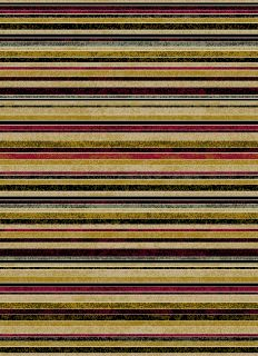 Black Area Rugs Modern Stripes Contemporary 5x8 Red