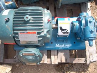 Blackmer Sliding Vane Pump XL1 5A Model 551230 z