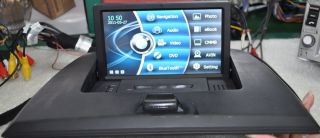 BMW x3 Car GPS Navigation System DVD Player GPS BT Radio USB Free Map