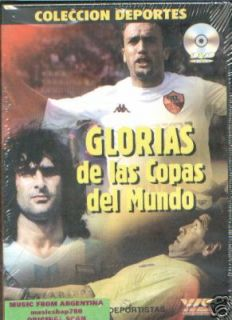 DVD World Cup FIFA Players MARADONA Pele Kempes Cruyff