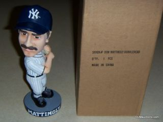Don Mattingly Bobblehead New York Yankees Baseball Collectible w Box