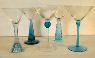 bombay sapphire gin martini glass x 4 bombay sapphire dry gin special