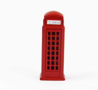 Love London British UK Red Telephone Booth Box Freezer Fridge Magnet