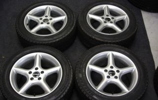 Borbet 16 Wheels Blizzak Winter Snow Tires Volvo S60 C70 V70 S70 850