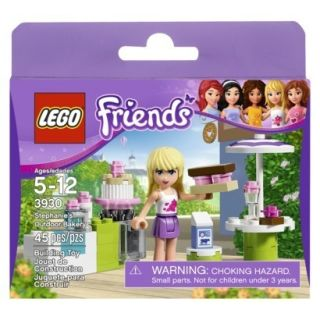 LEGO Friends Stephanies Outdoor Bakery (3930) 45 Pieces Girls Play Set
