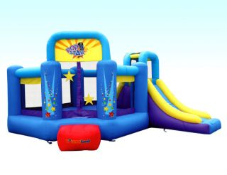 Bounceland Inflatable Bounce House Pop Star Bouncer