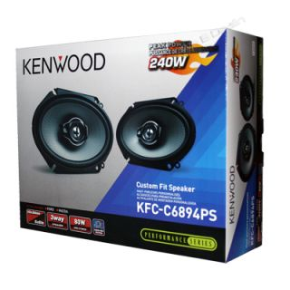 Way Car Audio Custom Fit Ford Replacement Speakers