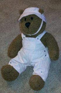 Baby Gap Brannan Curly Brown 13 Teddy Bear Stuffed Plush Brennan LRG