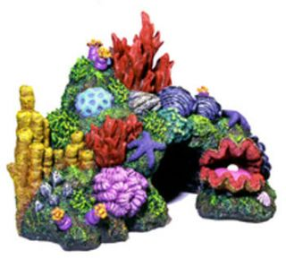 Blue Ribbon Australian Coral Reef Mini Aquarium Decor