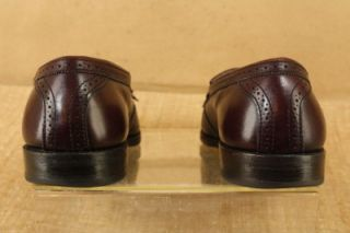 Vtg Allen Edmonds Mens Bridgeton Tassel Loafer Slip on Shoes 10 5c