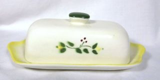 Lovely Vintage Brock California Farmhouse Butter Dish