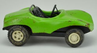 Collectible Green Tonka Dune Buggy Metal Toy Car Jeep Truck Diecast