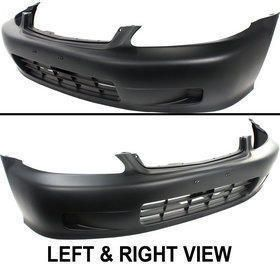Front New Bumper Cover Primered Coupe Sedan Honda Civic 2000 Parts