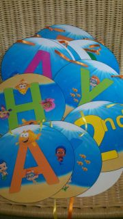 Bubble Guppies Large Happy Birthday Banner Only
